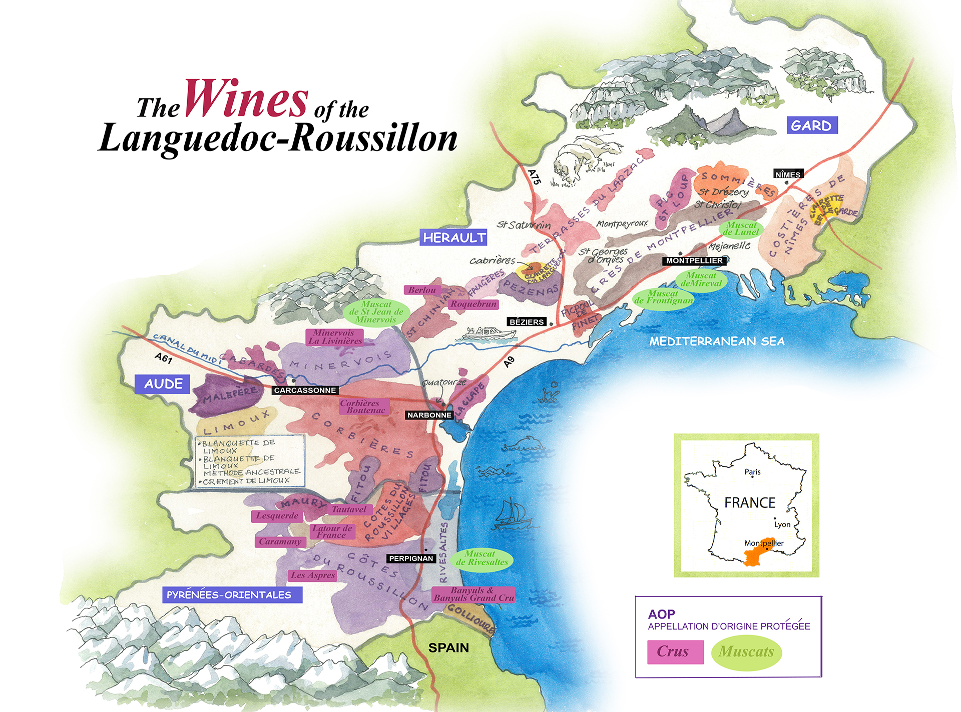 languedoc wine tasting